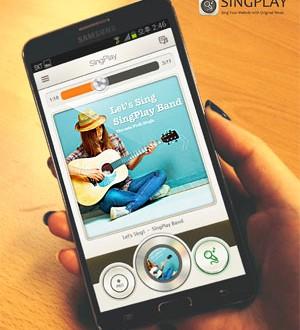 SingPlay Phone App Puts Karaoke in Your Pocket