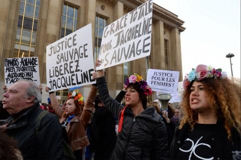 Jacqueline Sauvage protest