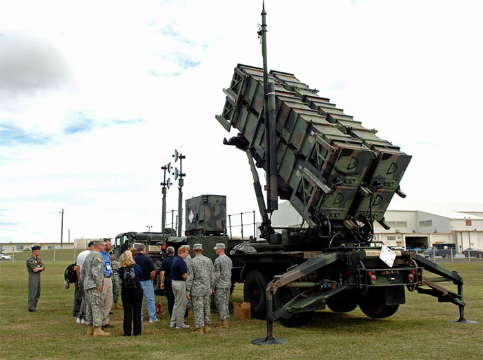 Patriot Missile Air Defense Battery in Okinawa
