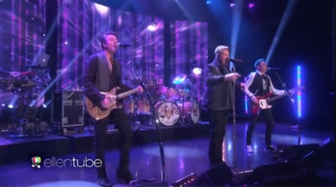 rascal flatts on ellen show