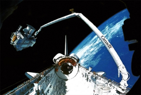 Space Shuttle Canadarm