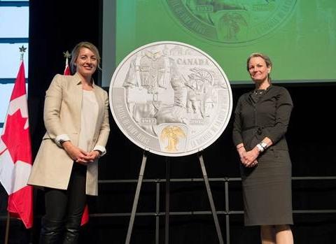 Canadian Vimy Ridge Anniversary coin