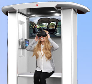Freeflow VR kiosk
