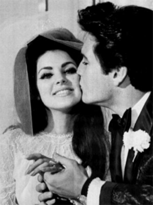 Elvis and Priscella marriage