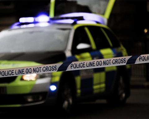 UK police tape